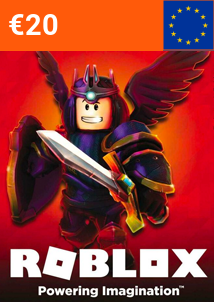 🥇€20 Euros 1600 Robux Prepaid Card Gift Top Up Wallet Code